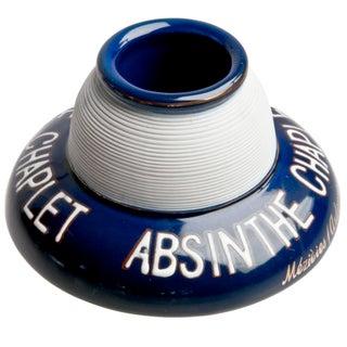 Vintage French Absinthe Chaplet Porcelain Match Striker