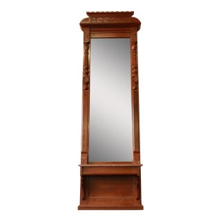 Victorian Eastlake Tall Pier Mirror
