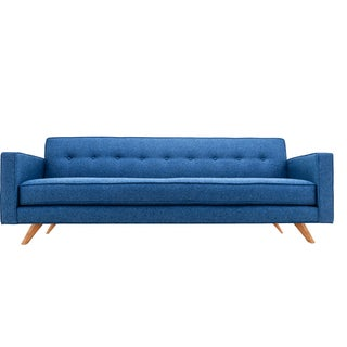 Clad Home Mid-Century Style Custom Tufted Sofa