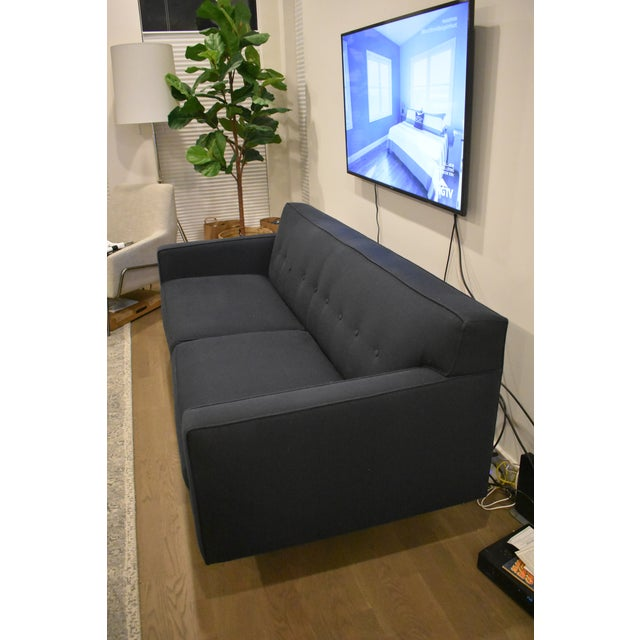 Room and board andre navy sofa chairish for Room and board andre