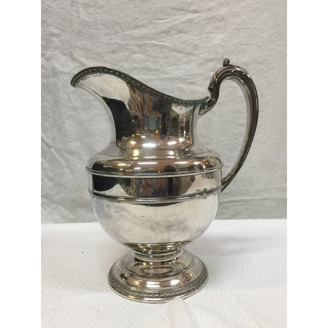 Reed And Barton 1920 S Silverplate Pitcher Chairish