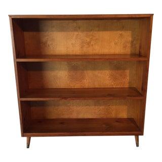 Mid-Century Pine Bookcase