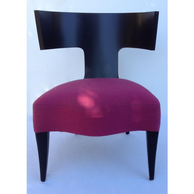 "Image of Pink Donghia ""Klismos"" Chair"
