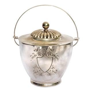 Vintage 1960's Mappin & Webb Silverplate Trophy Ice Bucket