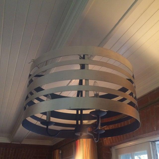 Image of Modern Industrial Hanging Light Fixture