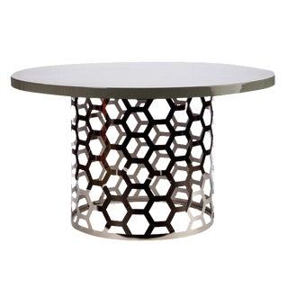 Gray Top Laguna Dining Table