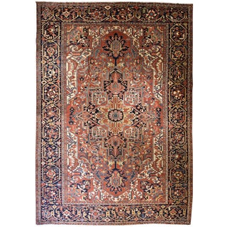 Oversize Persian Heriz Carpet