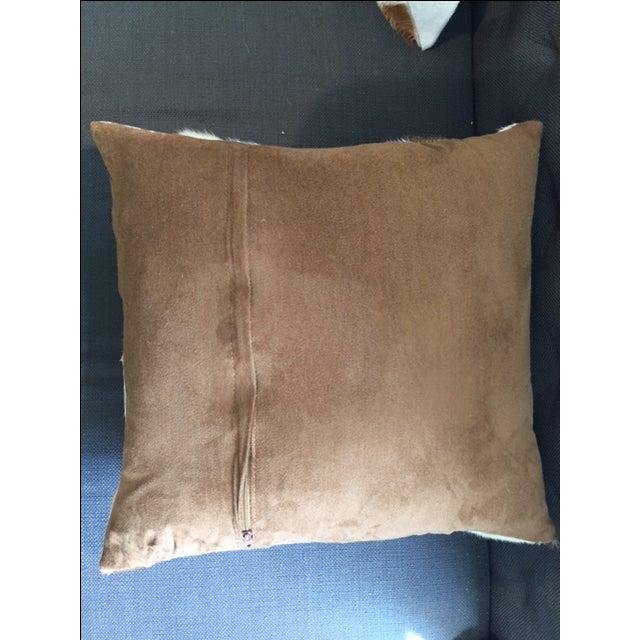 Nourison Cowhide Pillows - A Pair - Image 3 of 7