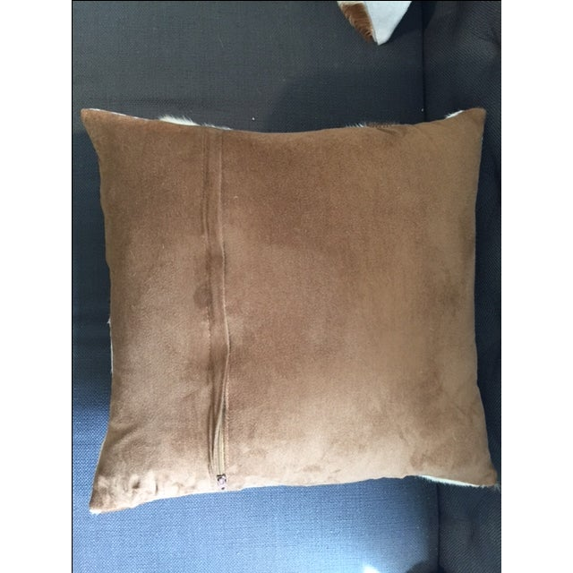 Image of Nourison Cowhide Pillows - A Pair