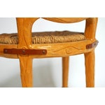 Image of Spanish Carved Faux Bois Chair