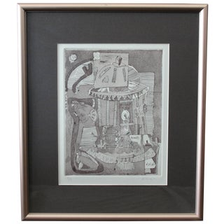 Limited Edition Abstract Engraving by Killian