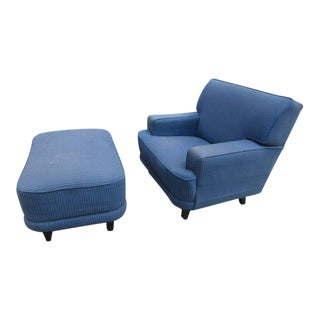 George Nelson Lounge Chair and Ottoman for Herman Miller