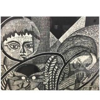 Junichiro Sekino Japanese Woodblock Print
