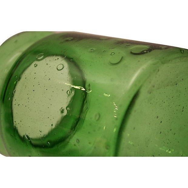 Image of Bright Green Apothecary Lidded Jar