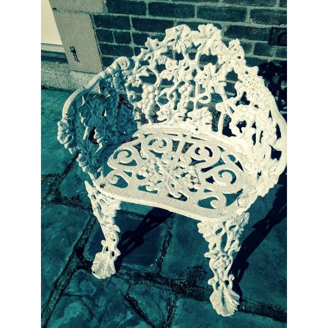 Antique Cast Iron Garden Bench - Image 6 of 11