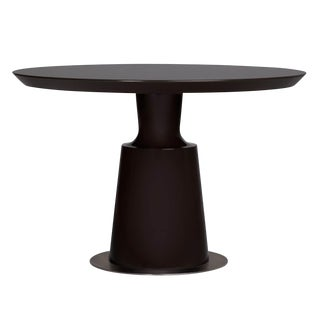 Holly Hunt Black Peso Dining Table