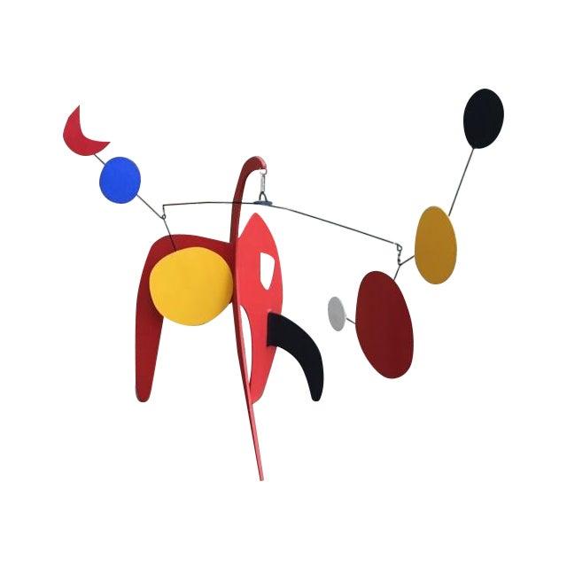 Vintage Calder Style Stabile Mobile Sculpture - Image 1 of 11