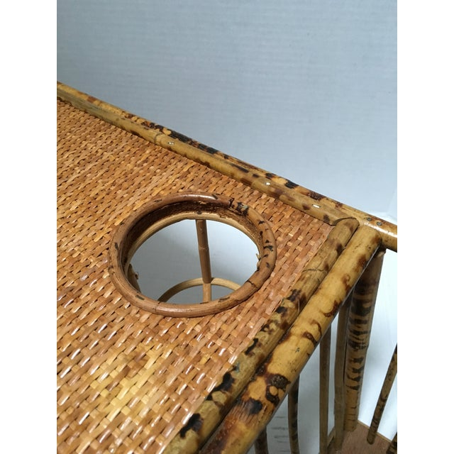 Rattan Serving Bed Tray - Image 4 of 9