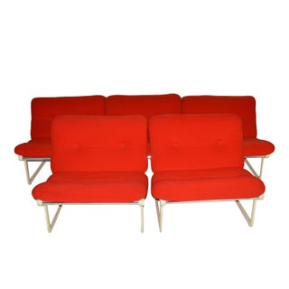 Hannah Morrison for Knoll Sling Chairs - Set of 5
