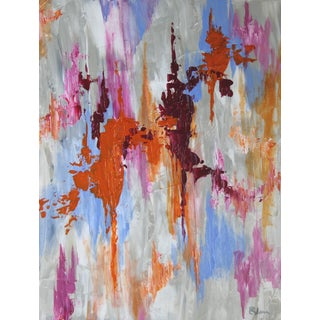 Abstract Textured Painting by C. Plowden