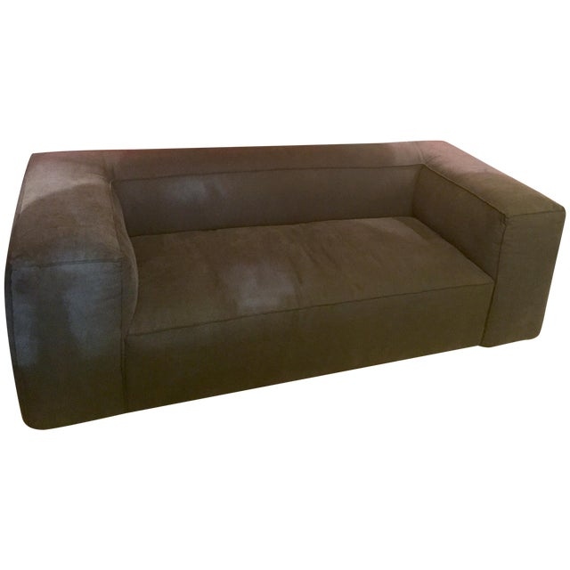 Linen Upholstered Sofa - Image 1 of 4