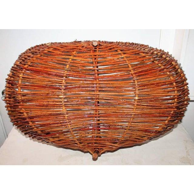 Monumental Hickory Gathering Basket - Image 2 of 6