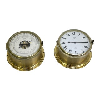 Schatz Maritime Clock and Weather Station