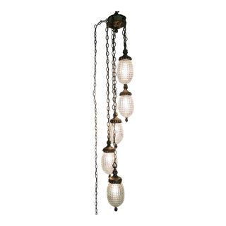 1960s Hanging Chain Pendant Lighting
