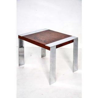 Milo Baughman Rosewood Side Table