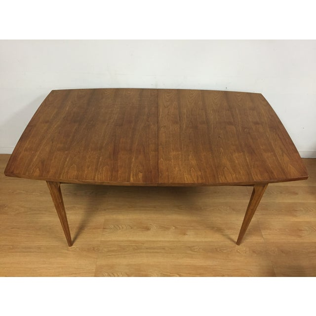 Broyhill Walnut Dining Table - Image 3 of 9