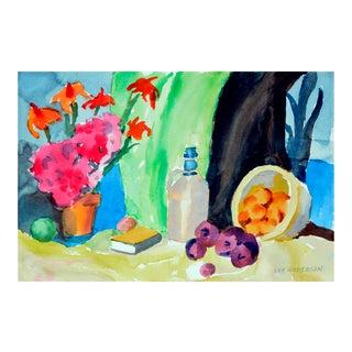 Fruit & Jug Still Life Painting