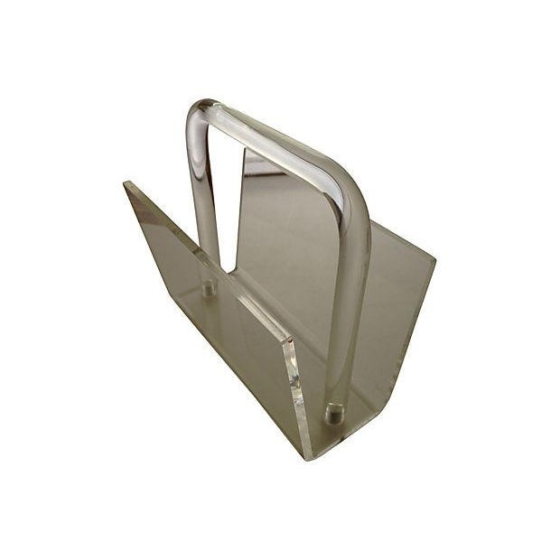 Image of Lucite Mail Holder