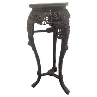 19th Century Chinese Rosewood Carved Table