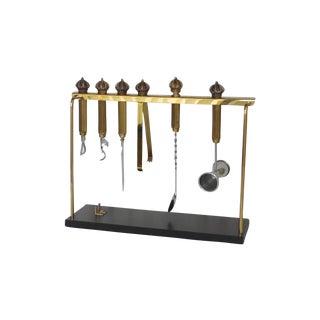 Brass Set of Bar Tools
