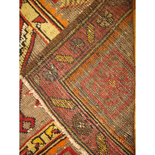 Vintage Turkish Anatolian Rug - 3'4'' x 7' - Image 4 of 5