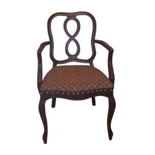 Antique Mid Century Custom Louis Vuitton Chair