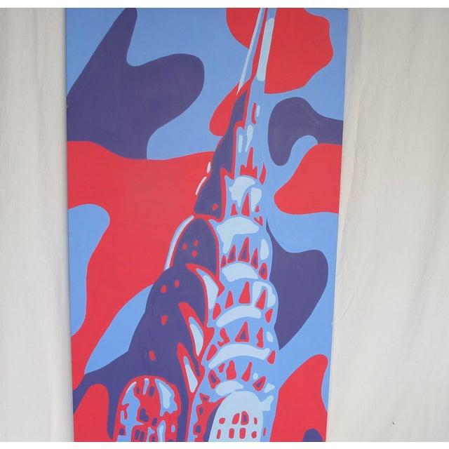 Monumental Acrylic of New York's Chrysler Building - Image 6 of 8