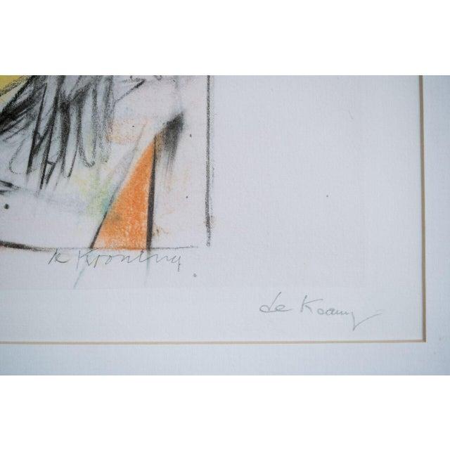slant select -- Willem de Kooning - Image 2 of 3