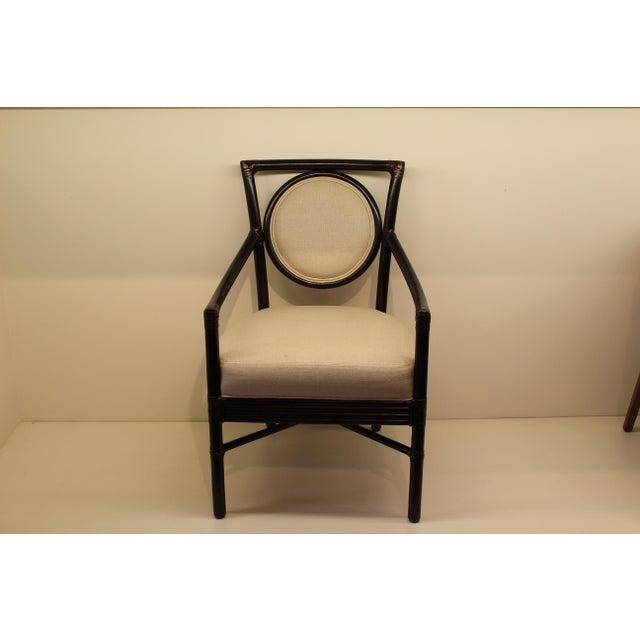 McGuire Orlando Diaz-Azcuy Salon Arm Chair - Image 2 of 6