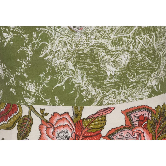 Image of Toile & Vintage Floral Pillows - A Pai