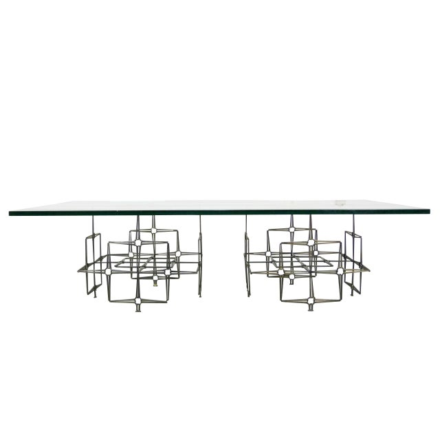Studio Crafted Nail Base Brutalist Coffee Table - Image 1 of 7