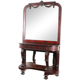 French Style Mirror and Console