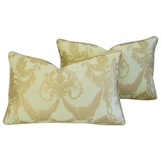 Italian Mariano Fortuny Boucher Pillows - A Pair