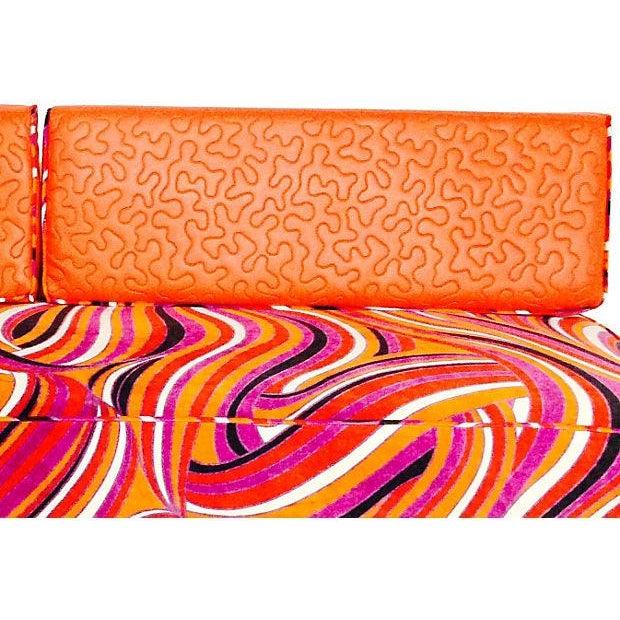 Vintage Mod Upholstered Daybed - Image 7 of 7