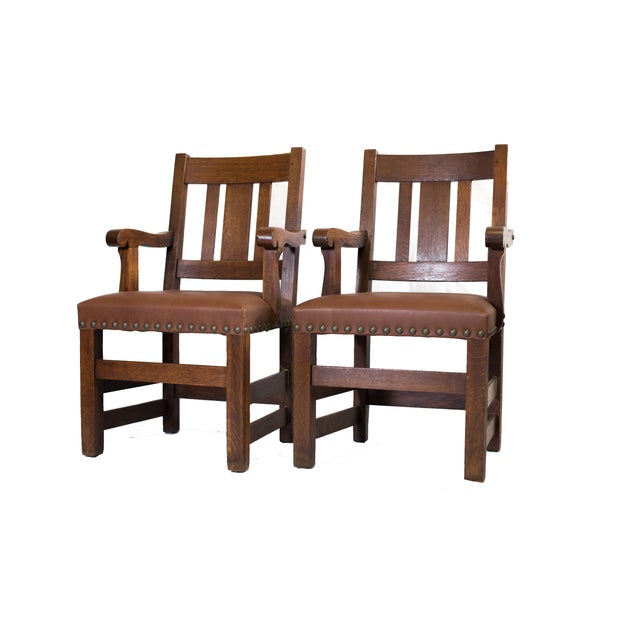 Barber Brothers Dining Chairs - Set of 4 - Image 2 of 4
