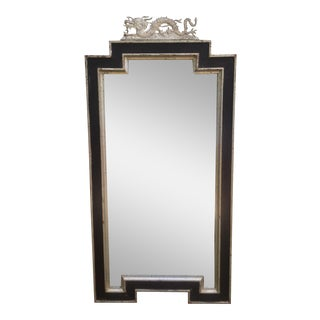 Sarried Ltd Silver Gilt Dragon Mirror