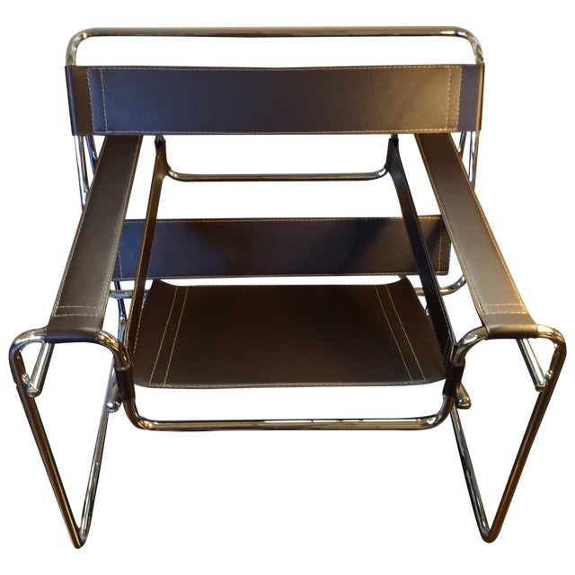 Brown Eames Breuer Wassilly Chair - Image 1 of 10