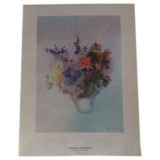 Art Print - Larkspur & Delphinium Flower