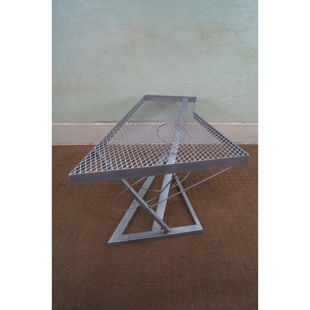Contemporary Expanded Metal Coffee Table - Image 3 of 10