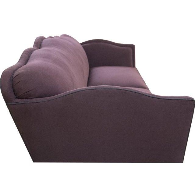 Image of Aubergine Knole-Style Sofa